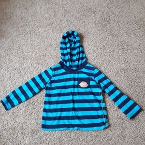 Child of Mine By Carter's Striped Hoodie